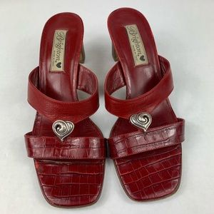 Brighton Shoes - Brighton Trista Heart Valentine Heel Sandal 8